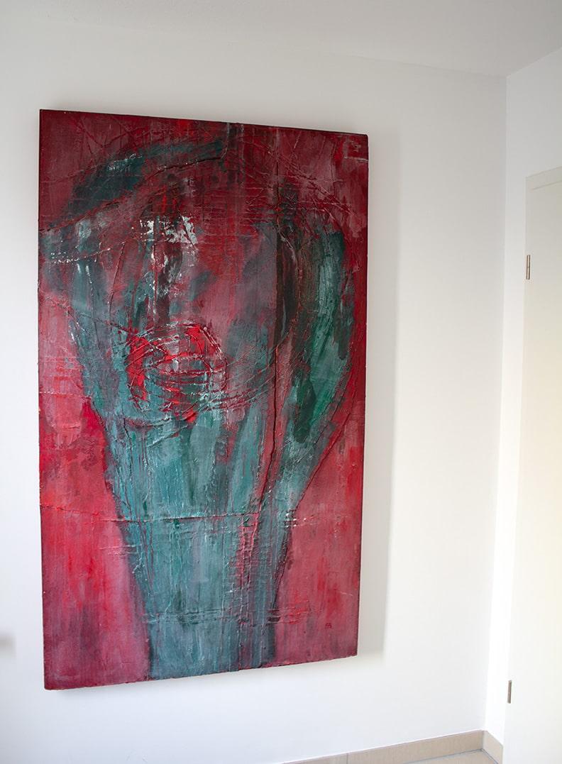 Kunst in den eigenen vier Wänden