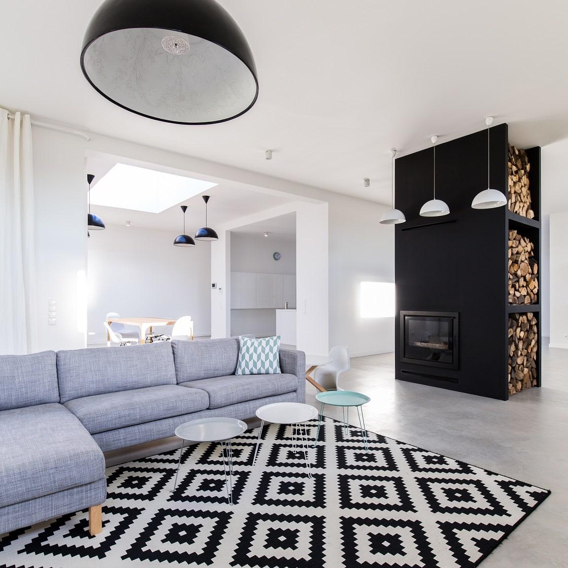 Wohlfühlumgebung - gemütliches Wohnzimmer - Wohnideen und Inspirationen bei DESMONDO