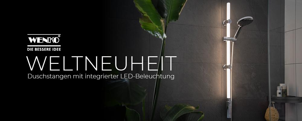 LED Duschstange WENKO