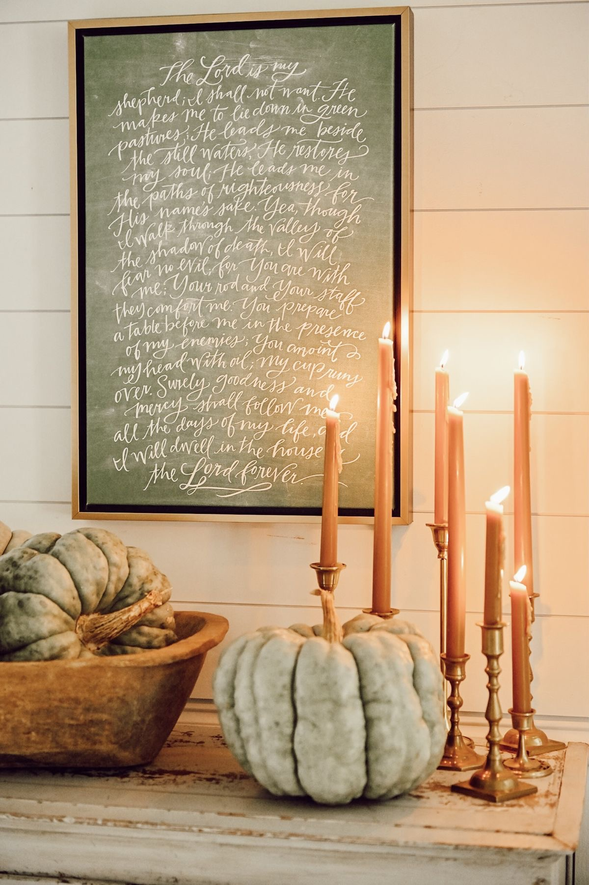 Kerzen - Interieur-Trends für den Oktober