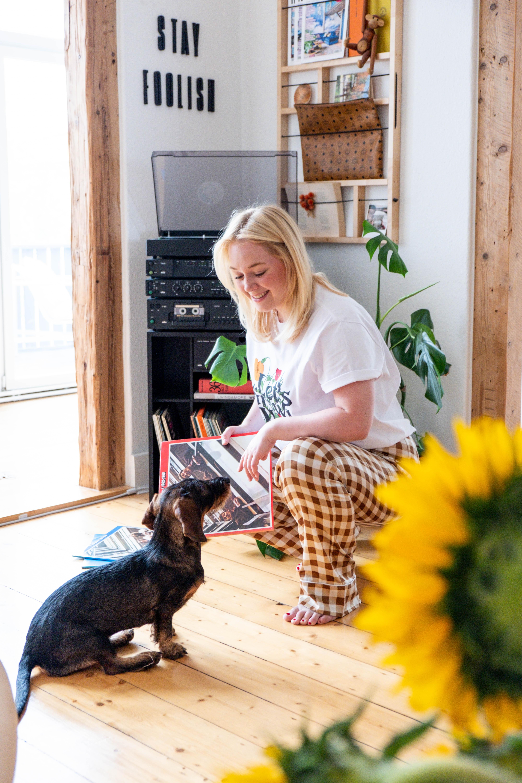 Homestory: Luisa liebt Farben Wohnideen einfach desmondo