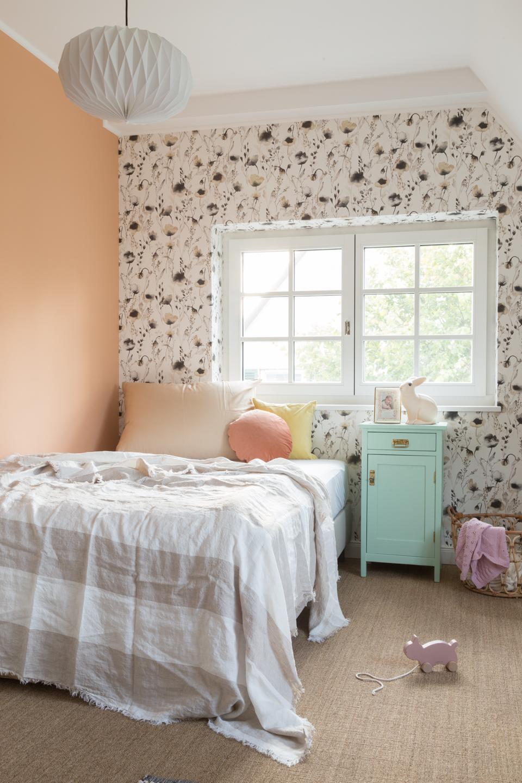 Kinderzimmer Mädchen -  Haus kernsaniert und trotzdem seinen Charakter bewahrt