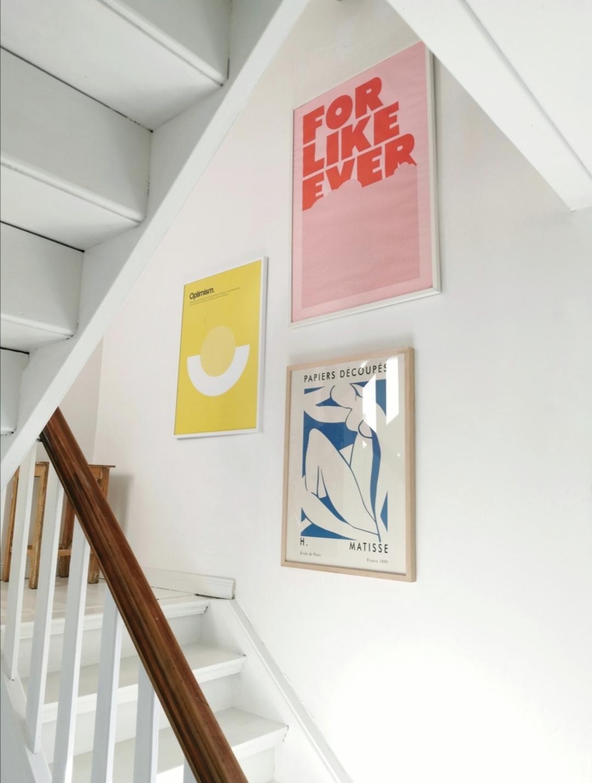 Treppenhaus in weiß - Überrachte Terrasse - Homestory: Bei Nathalie sieht es aus wie im Urlaub