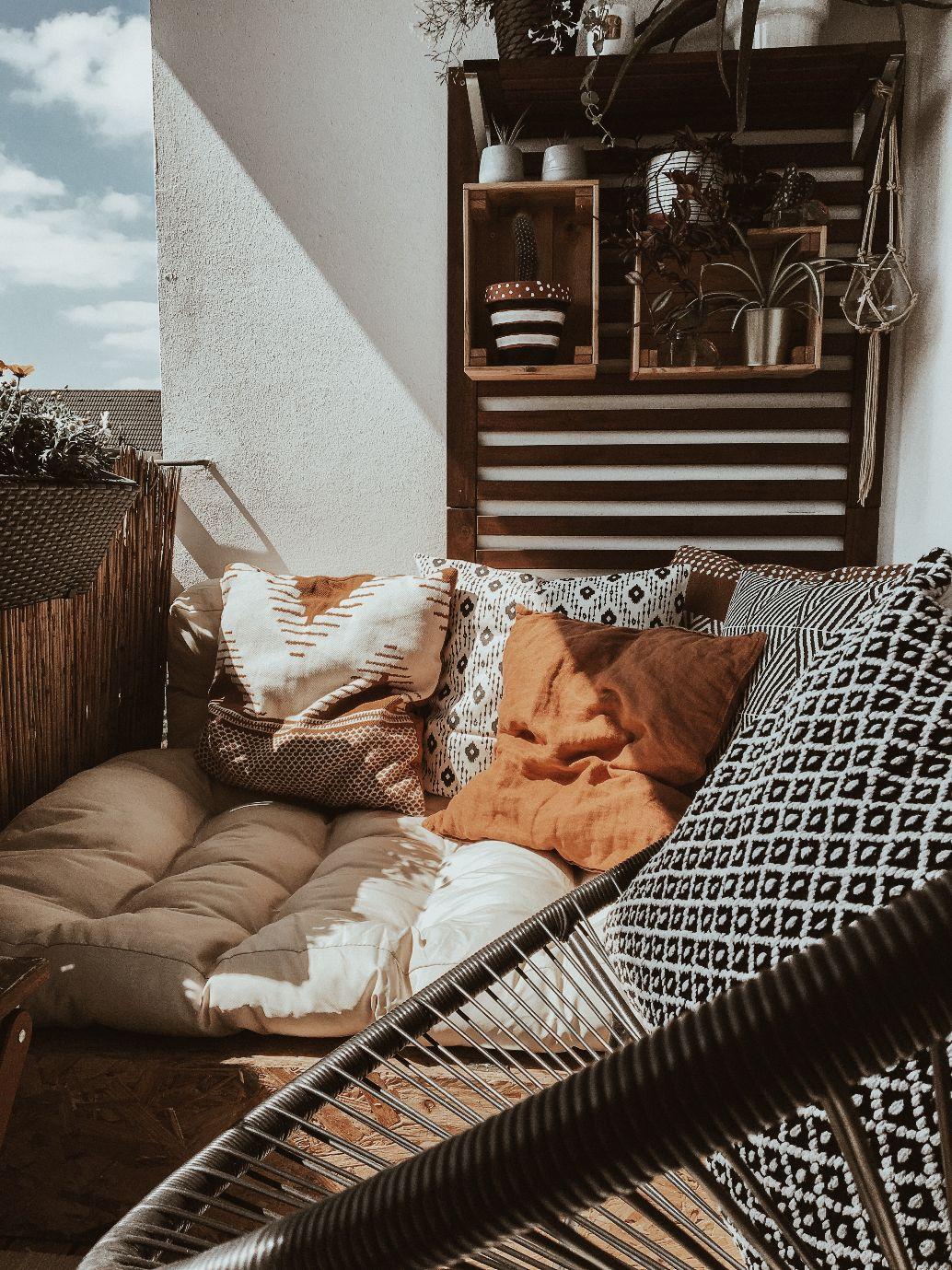 Upcyling am Balkon - Zu Hause bei Nina - Homestory DESMDONDO
