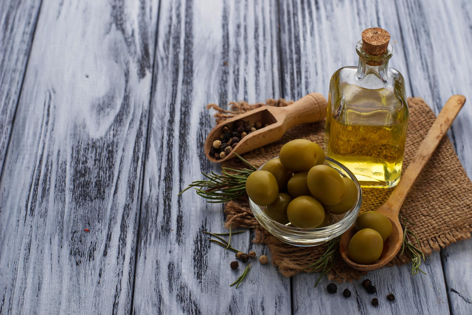 Olive überwintern