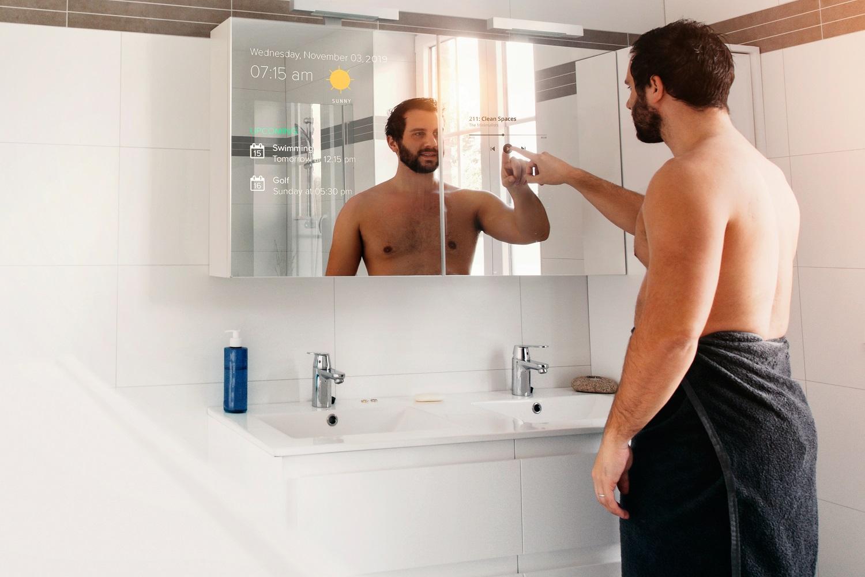Intelligentes Badezimmer - auchder Smart Mirror wird sich 2021 weiterverbreiten