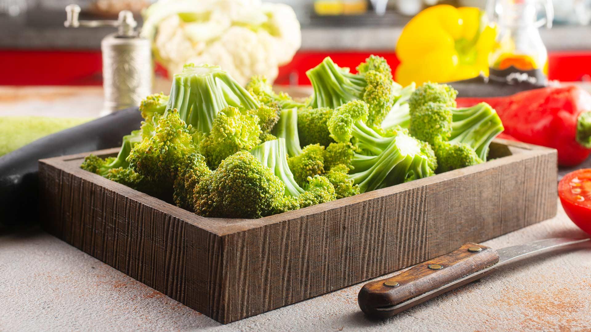 Brokkoli Die kleinen grünen Bäumchen einfach gesund desmondo