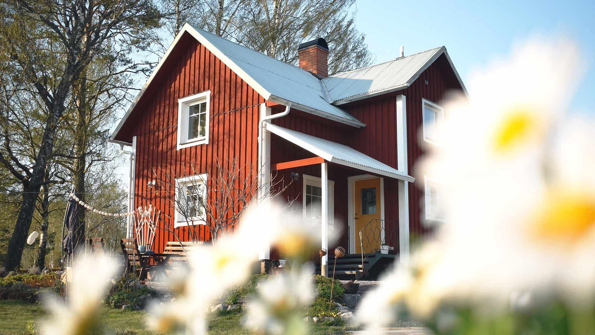 Anna Maria hat Elemente aus der Vergangenheit in ihrem Haus bewahrt.