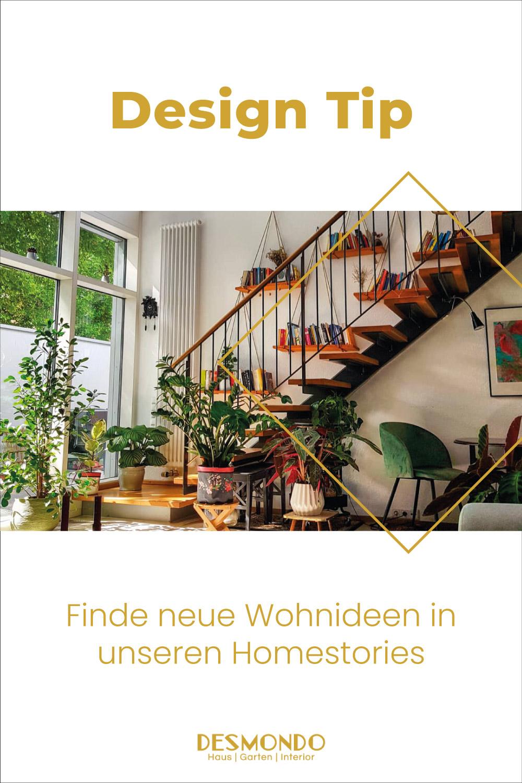 gemütlicher zeitloser Stilmix aus Alt und Neu, Möbelhaus und Flohmarkt, DIY und Gekauft - Homestory von Olga auf desmondo.de