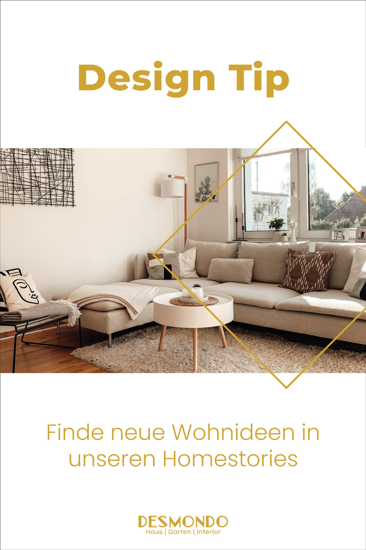 großes Sofa im Wohnzimmer - Homestory: Paula lebt im ständigen Wandel Wohnideen einfach desmondo