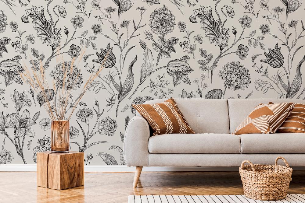 Indoor - Inspirationen für deinen Wohnraum - Fototapete mit Natur - so geht's einfach desmondo