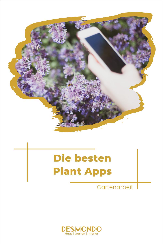 Outdoor - Inspirationen für Balkon und Garten - Die besten Plant Apps für Hobbygärtner - einfach Desmondo