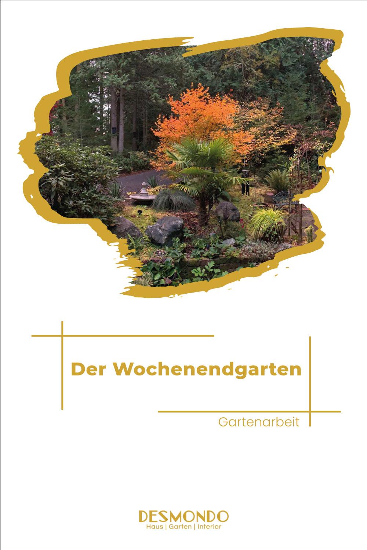 Outdoor - Inspirationen für Balkon und Garten - Der Wochenendgarten - Externe Gärtnerei - einfach Desmondo