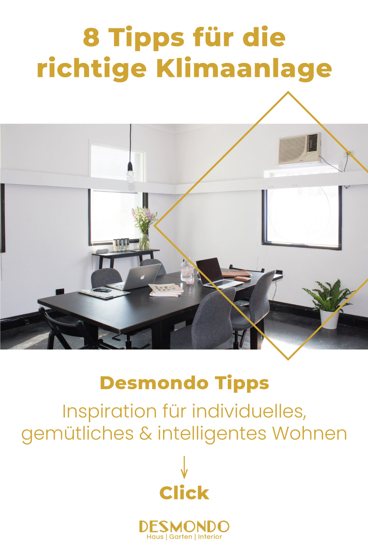 Indoor - Inspirationen für Balkon und Garten - 8 Tipps für die richtige Klimaanlage - einfach Desmondo