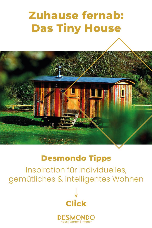 Outdoor - Inspirationen für Balkon und Garten - Zuhause fernab: Das Tiny House auf einem Gartengrundstück - einfach Desmondo