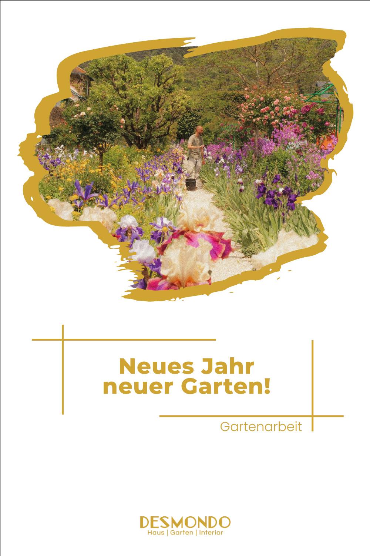 Outdoor - Inspirationen für Balkon und Garten - Neues Jahr, neuer Garten! - so geht's einfach desmondo