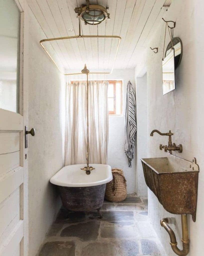 Stilbruch im Badezimmer - Vintage so wird alt neu