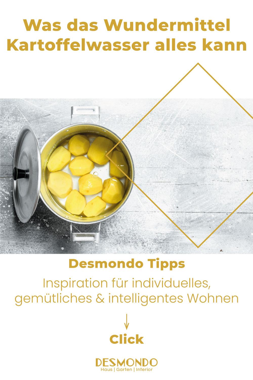 DIY - Do it Yourself Tipps und Tricks - Was das Wundermittel Kartoffelwasser alles kann - so geht's einfach desmondo