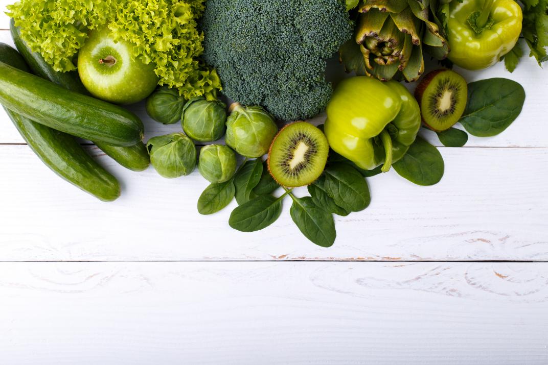 Grünes Gemüse Superfood Desmondo
