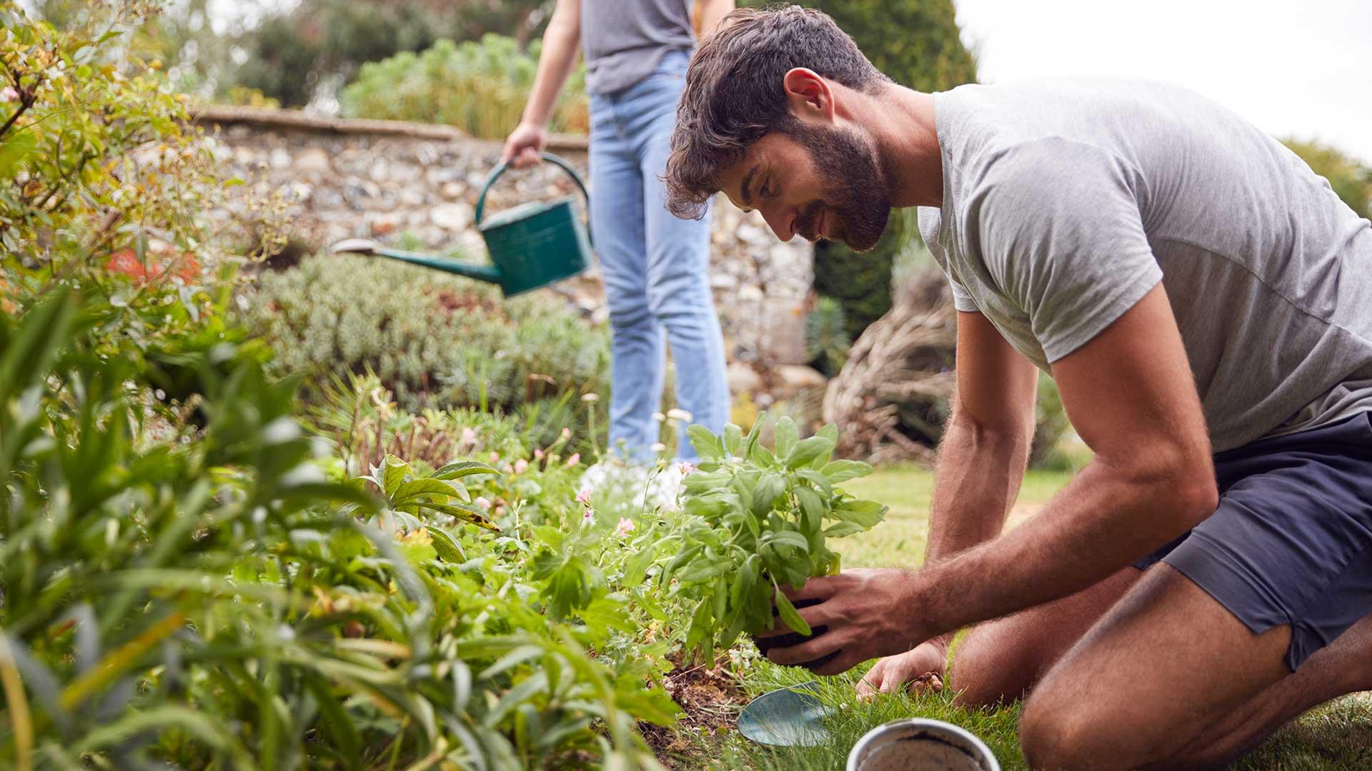 Outdoor - Inspirationen für Balkon und Garten - Gartenarbeit fördert körperliche Fitness und gesunden Geist - so geht's einfach desmondo