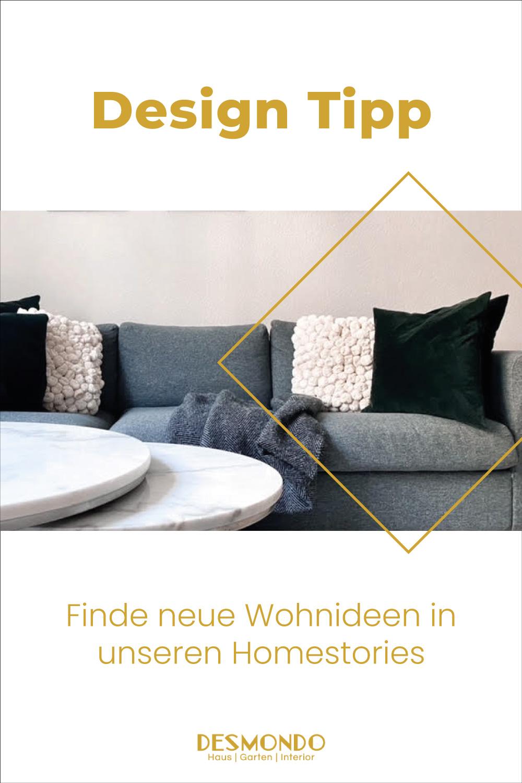 Homestories - Bei Lesern Zuhause - Homestory: Janine mag keinen Schnickschnack  - so geht's einfach desmondo