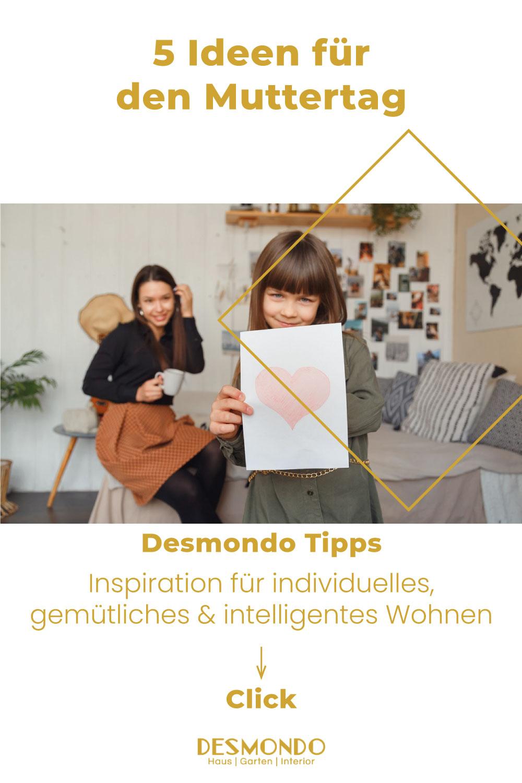 DIY - Do it Yourself Tipps und Tricks - 5 Ideen für den Muttertag - so geht's einfach Desmondo dein online Shop und online Magazin