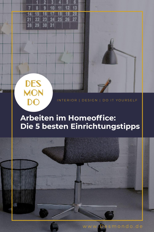 Indoor - Inspirationen für deinen Wohnraum - Arbeiten im Homeoffice: Die 5 besten Einrichtungstipps - so geht's einfach desmondo dein online Magazin und Shop