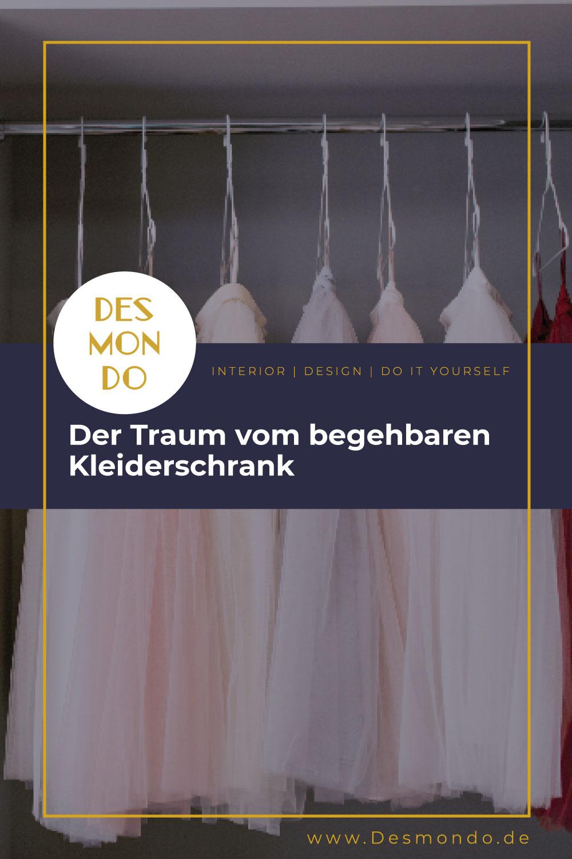 Indoor - Inspirationen für deinen Wohnraum - Der Traum vom begehbaren Kleiderschrank - so geht's einfach desmondo dein online Magazin und Shop