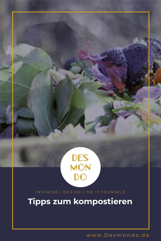 Outdoor - Inspirationen für Balkon und Garten - Tipps zum kompostieren - so geht's einfach Desmondo dein online Magazin und Shop