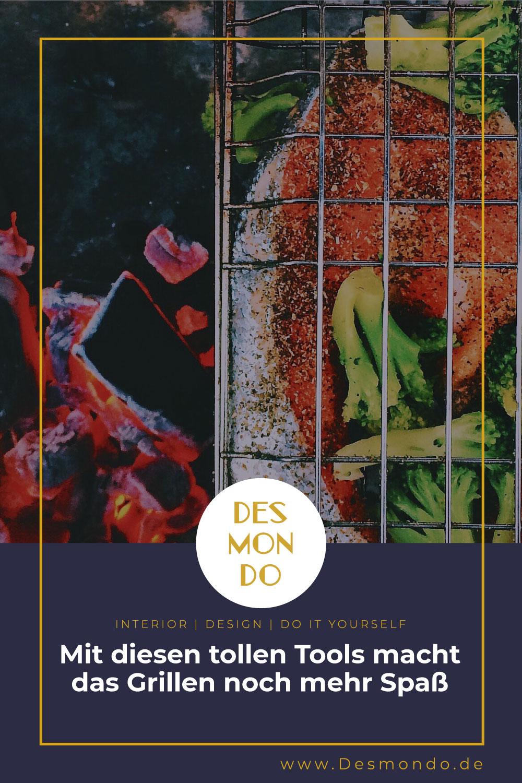 Outdoor - Inspirationen für Balkon und Garten - Mit diesen tollen Tools macht das Grillen noch mehr Spaß - So geht's einfach Desmondo dein online Shop und Magazin