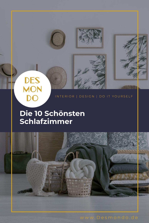 Indoor - Inspirationen für deine Wohnraum - Die 10 Schönsten Schlafzimmer - so geht's einfach Desmondo dein online Magazin und Shop