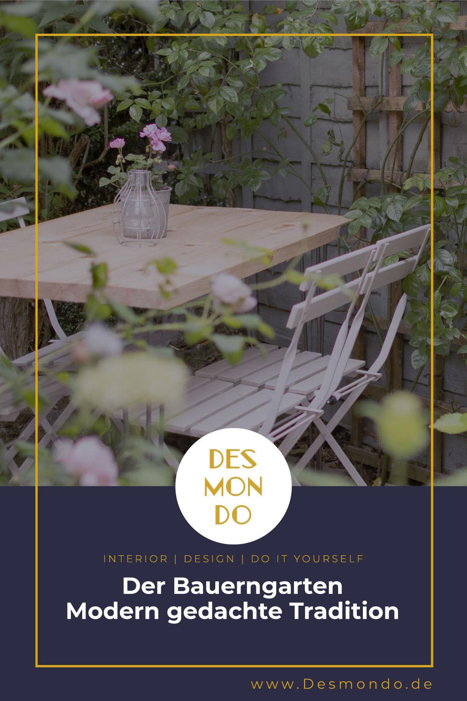 Outdoor - Inspirationen für Balkon und Garten - Der Bauerngarten - Modern gedachte Tradition- so geht's einfach Desmondo dein online Magazin und Shop