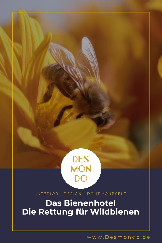Outdoor - Inspirationen für Balkon und Garten - Das Bienenhotel - Die Rettung für Wildbienen- so geht's einfach Desmondo dein online Magazin und Shop