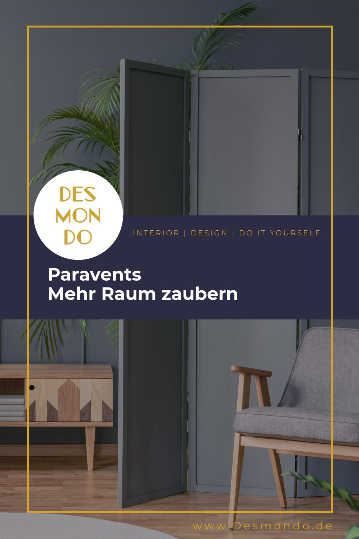 Indoor - Inspirationen für deine Wohnraum - Paravents - Mehr Raum zaubern- so geht's einfach Desmondo dein online Magazin und Shop