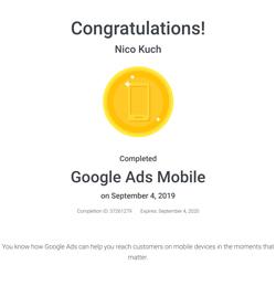 google ads mobile