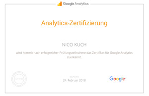 google analytics experte