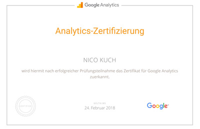 google analytics experte