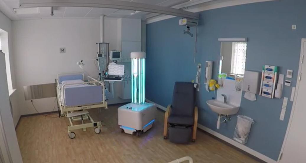 UVC消毒殺菌機器人