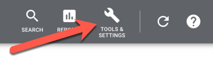 Google Ads Tools  & Settings