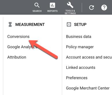 Google Ads Conversion Measurement