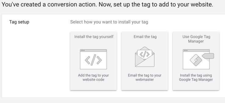 how will you install your conversion pixel