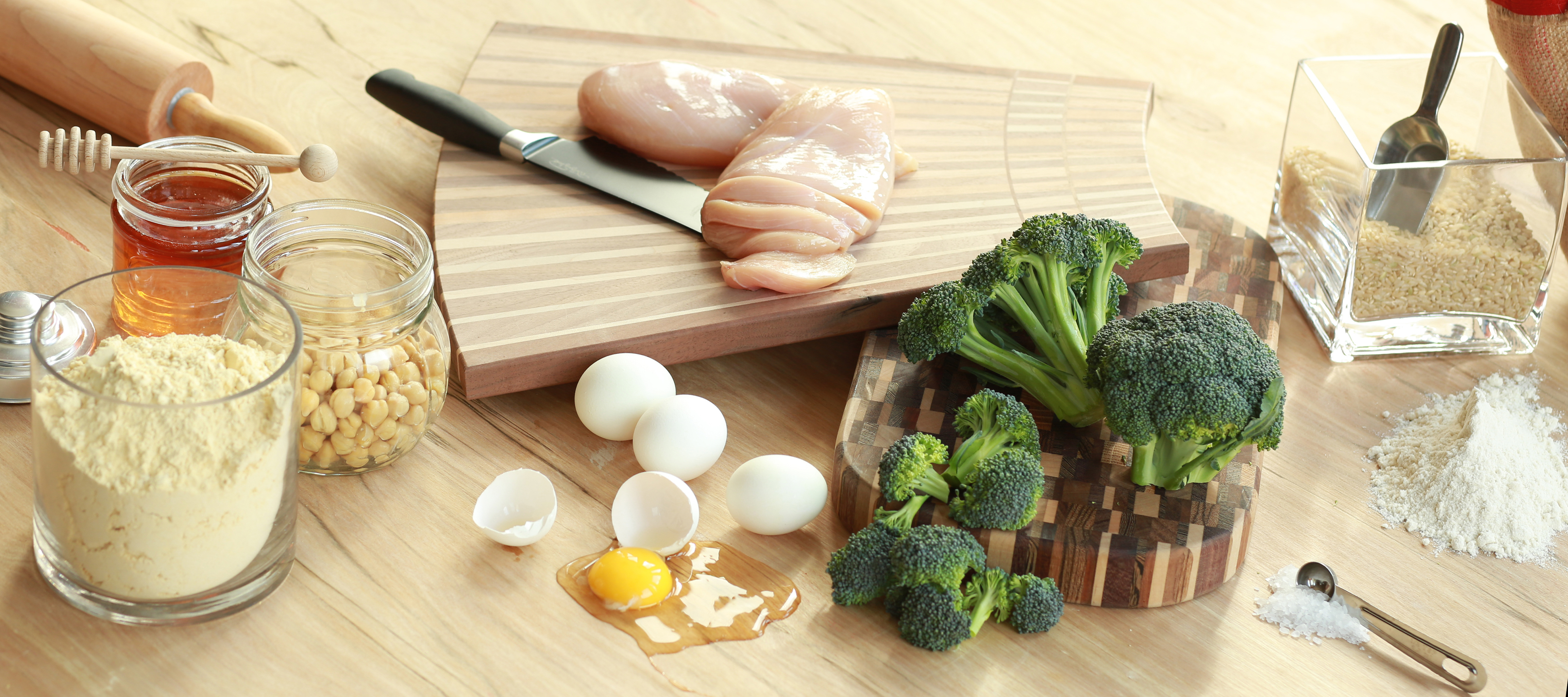 Healthy Ingredients for cooking