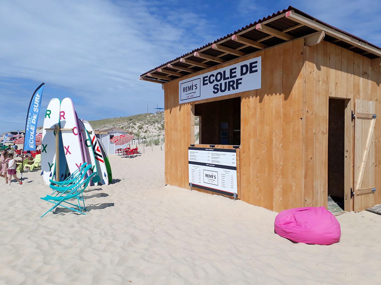 Ecole de Surf Cap Ferret Remi's Surf School