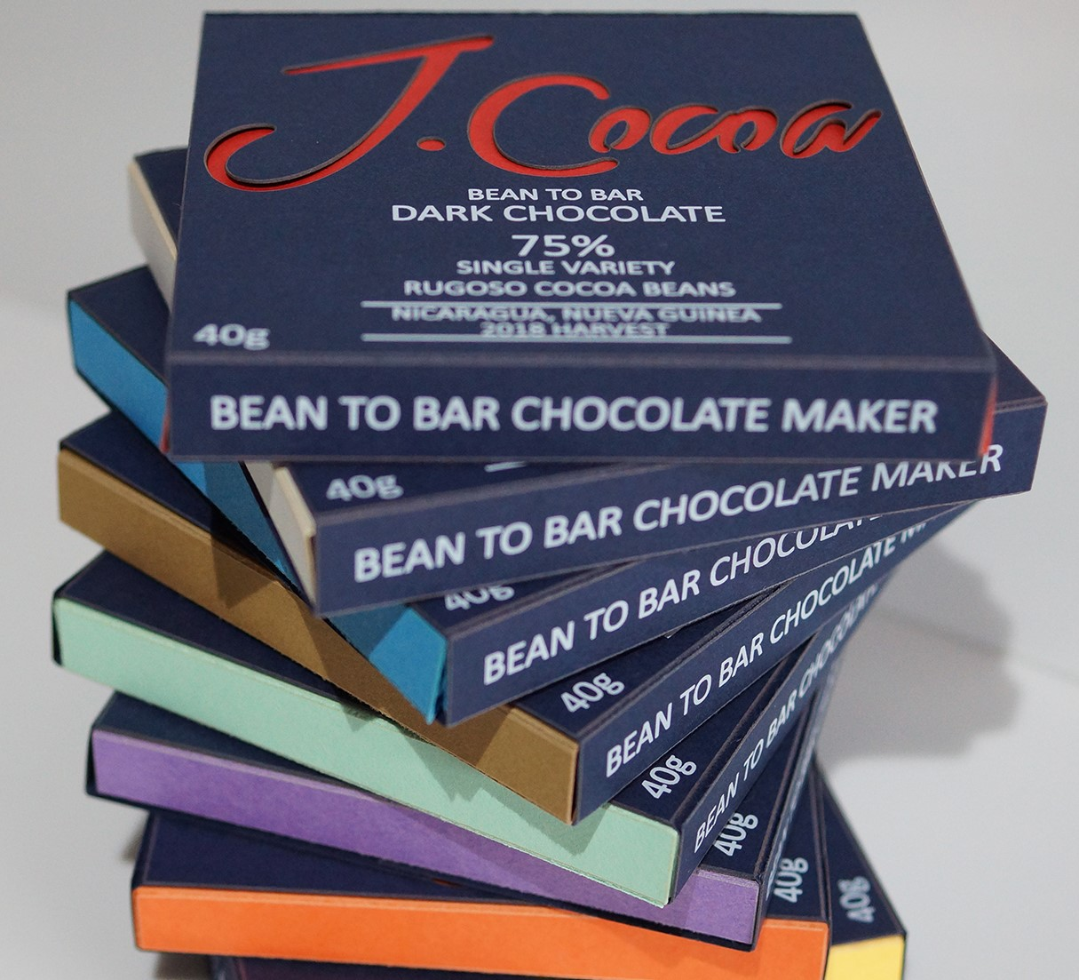 J Cocoa bean to bar chocolate