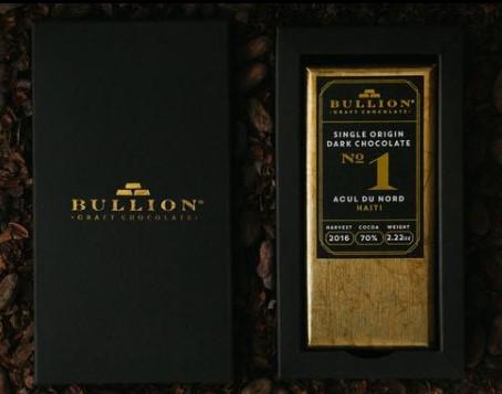 Bullion Bean to Bar chocolate
