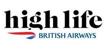 BA HIghlife Magazine logo British Airways Magazine