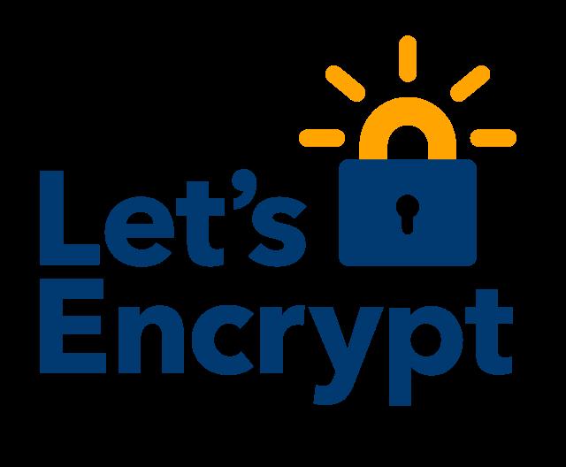 Das Siegel von Let's Encrypt SSL-Verschlüsselung