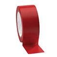 Taśma do wyznaczania ciągów komunikacyjnych 50 mm x 33 m czerwona