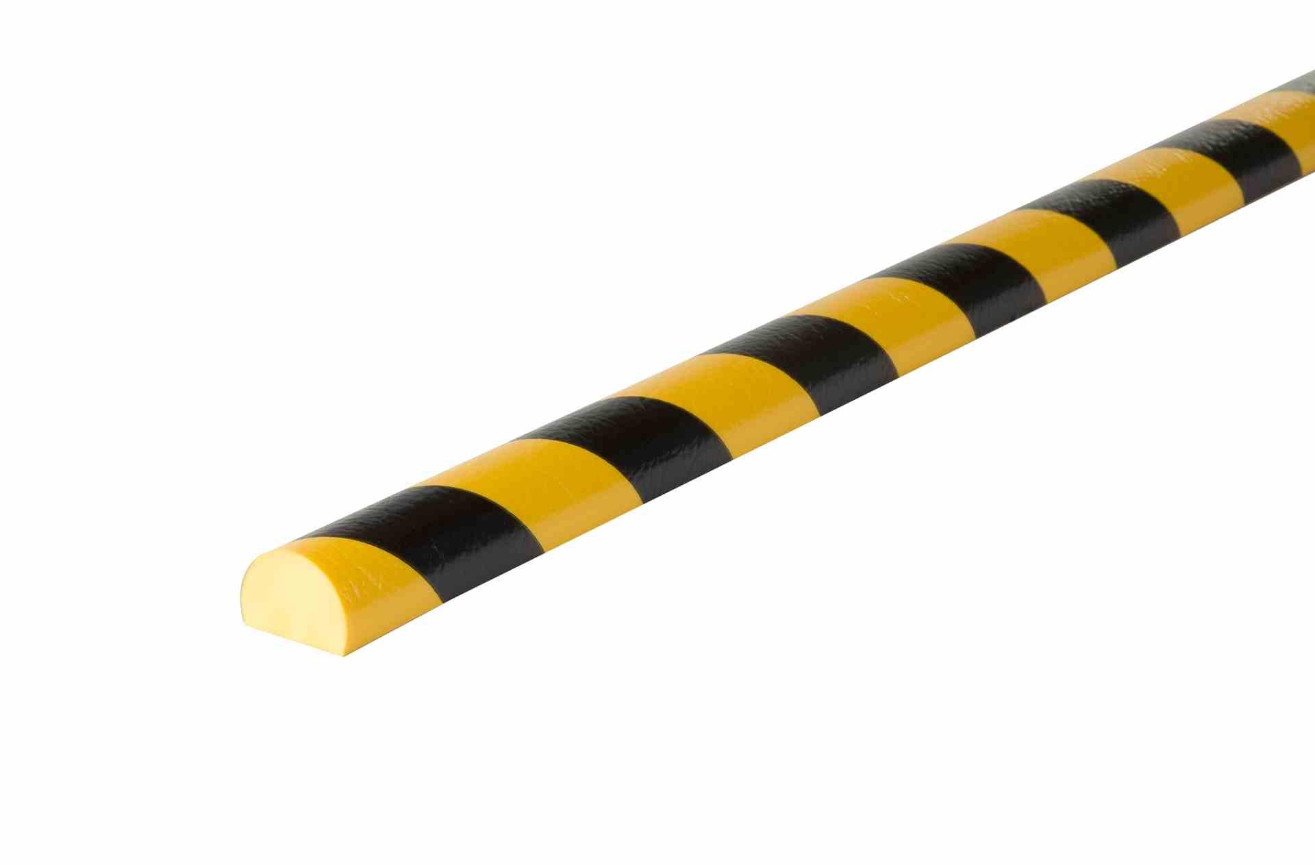 Profil czarno-żółty typu C 1 m