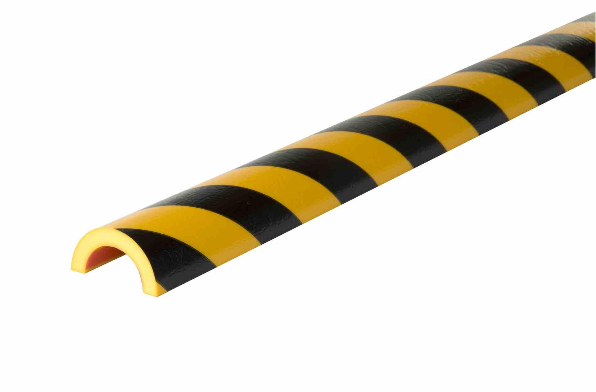 Profil czarno-żółty typu R50 1 m